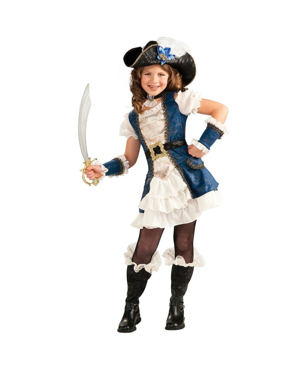 Костюмы пиратов для девочек фото